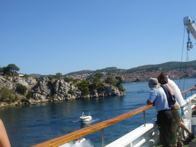 Cruising along the Dalmatian coast