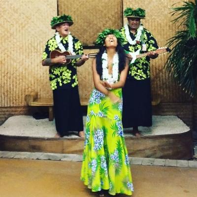 Welcoming in Tahiti